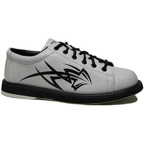 Pyramid Mens Tribal White Bowling Shoes