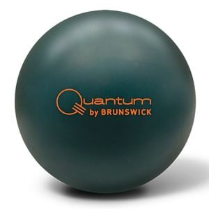 Brunswick Quantum Forest Green Solid, bowling, ball, release