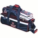 3 Ball Rolling Tote Red/Blue