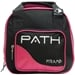 Path Spare Ball Tote Black/Hot Pink