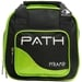 Path Spare Ball Tote Black/Lime Green NEW ITEM