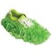 Fun Shoe Covers Fuzzy Lime
