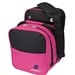 Compact Single Tote Black/Pink