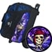 Pirate Skull w Ship Ball & Pirate Double Roller Deluxe Roller Bag