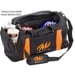 Clear View Deluxe Double Tote Black/Orange