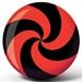 Spiral Red/Black